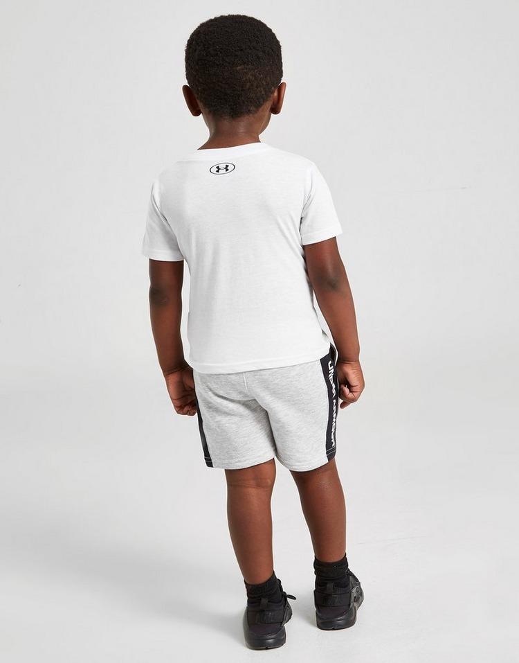 Under Armour Colour Block Panel T-Shirt/Shorts Set Infant