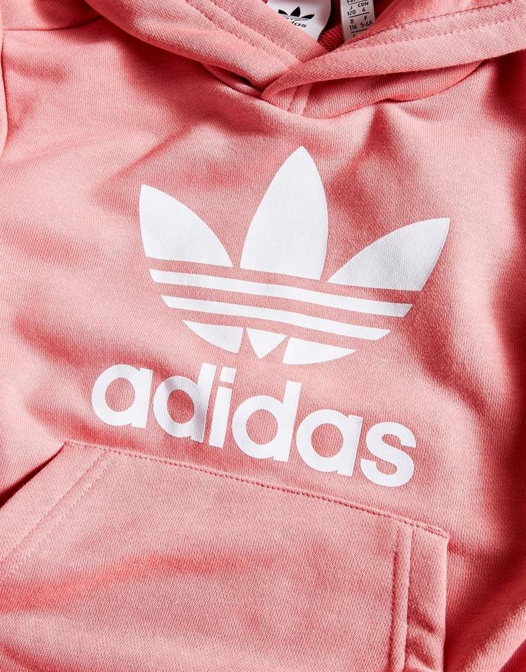 adidas Originals Girls' Trefoil Overhead Tracksuit Children