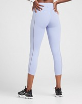 Nike Collant Training Yoga Luxe Infinalon Ribbed Femme