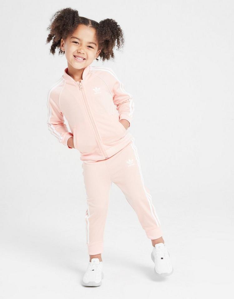 adidas Inf G Ss Suit Adiclr Pnk/wht