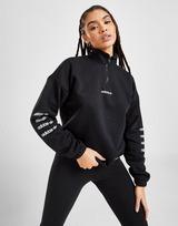 adidas Originals Repeat Linear 1/4 Zip Sweatshirt
