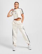 adidas Originals 3-Stripes Repeat Trefoil Crop T-Shirt