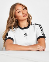 adidas Originals camiseta 3-Stripes Trefoil Boyfriend
