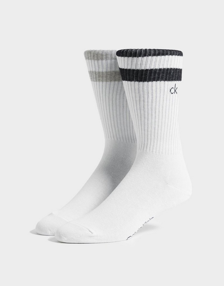 Calvin Klein CK 2 Pack Crew Socks