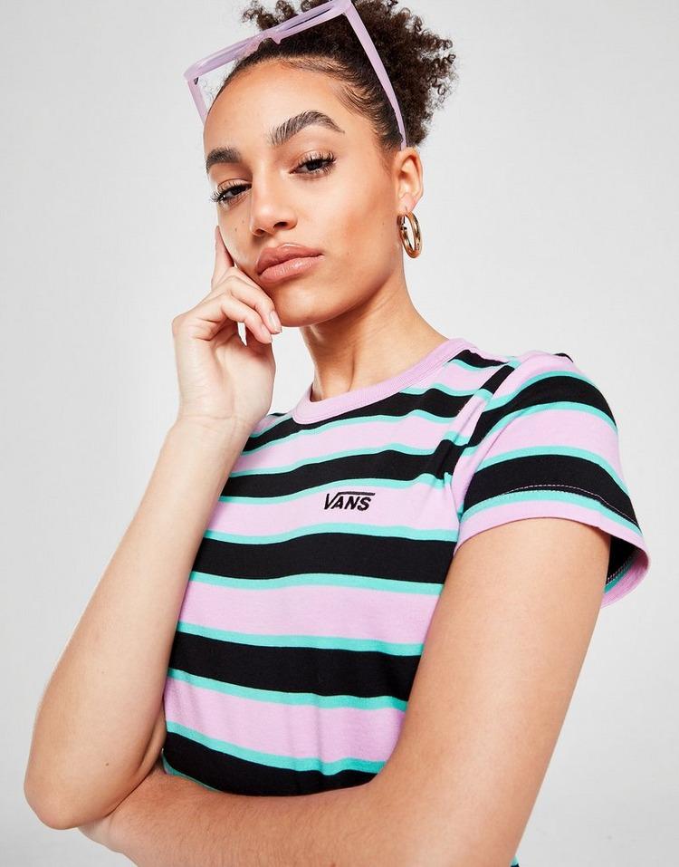 Vans Stripe Crop T-Shirt