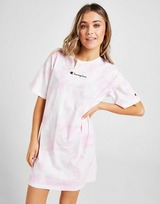 Champion Tie Dye T-Shirt Dress