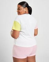 Champion Colour Block Logo Plus Size T-Shirt