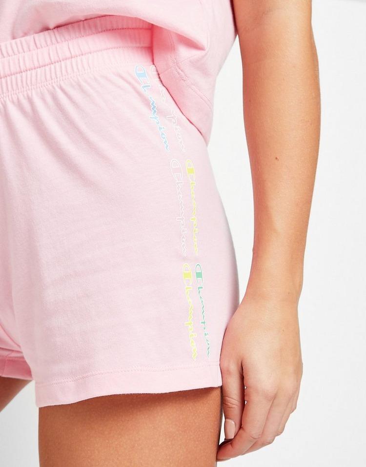 Champion Ombre Logo Shorts