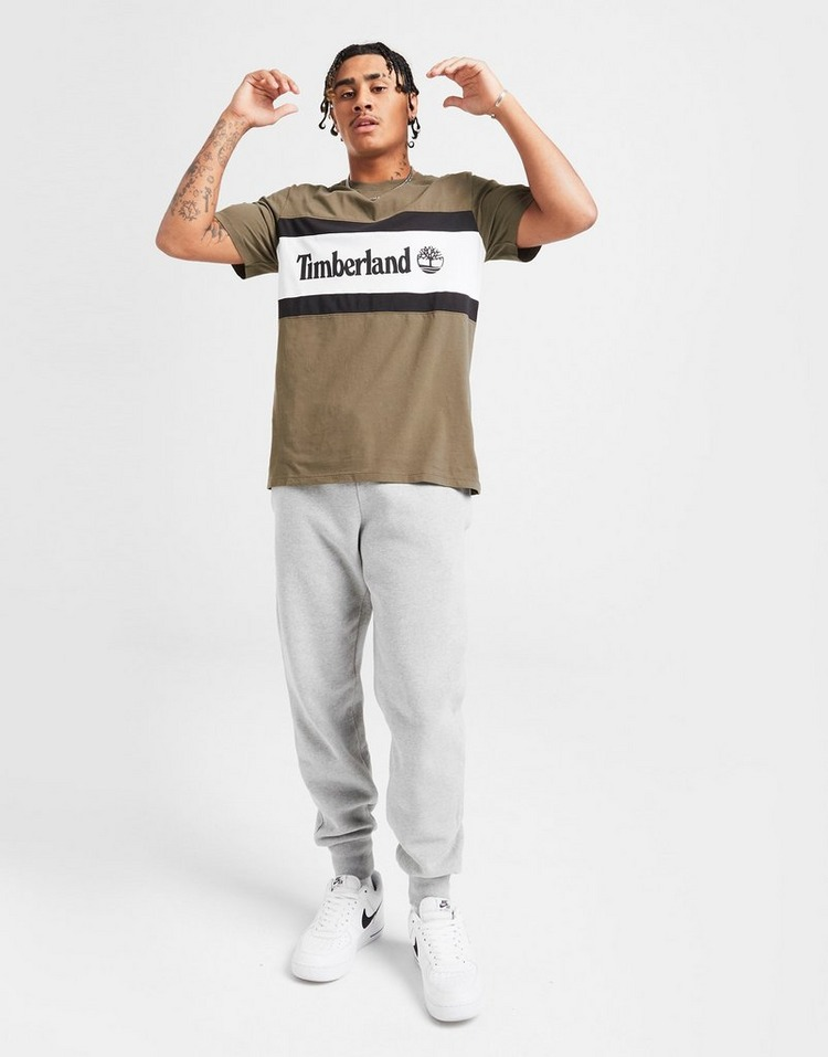 Timberland Colour Block Linear Logo T-Shirt