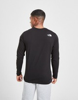 The North Face Sleeve Logo Long Sleeve T-Shirt