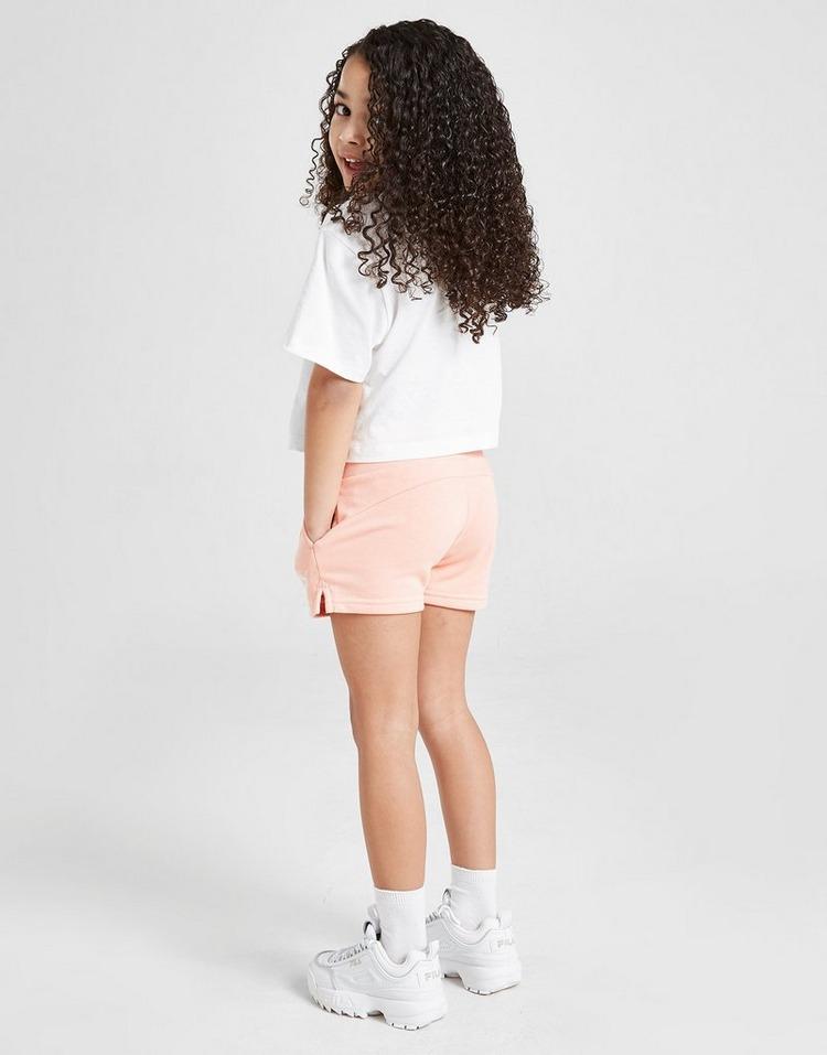 Puma Girls' Essential T-Shirt/Shorts Set Children