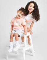 Puma Girls' Essential T-Shirt/Shorts Set Infant