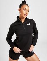Puma Core Fleece 1/4 Zip Sweatshirt