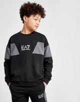 Emporio Armani EA7 Colour Block Crew Sweatshirt Junior