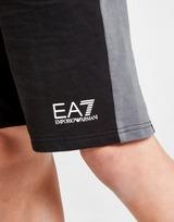 Emporio Armani EA7 Core Fleece Colour Block Shorts Junior