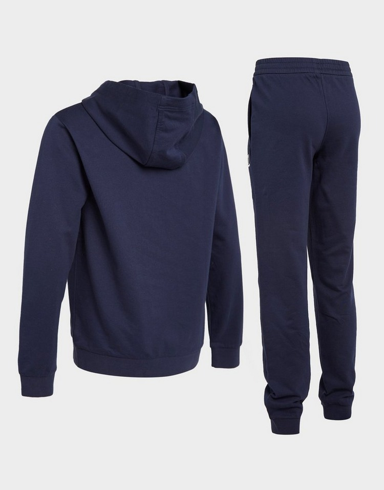 Emporio Armani EA7 Core French Terry Full Zip Hooded Tracksuit Junior