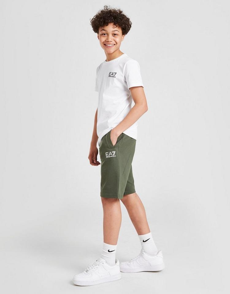 Emporio Armani EA7 Core French Terry Fleece Shorts Junior