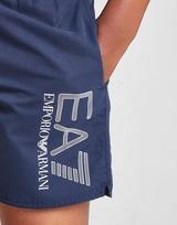 Emporio Armani EA7 Visibility Logo Swim Shorts Junior
