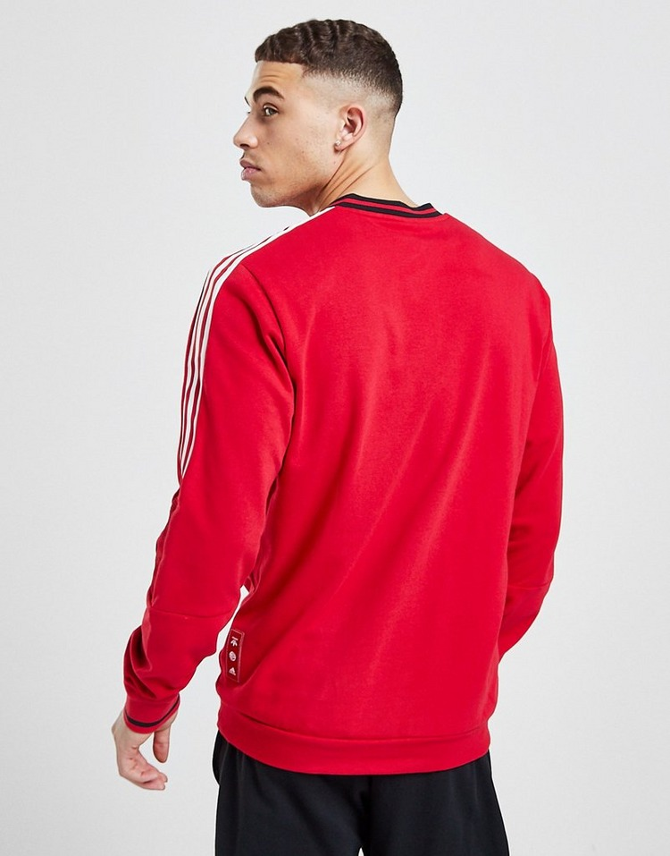 adidas Manchester United Chinese New Year Crew Sweatshirt