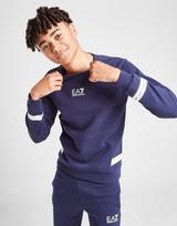 Emporio Armani EA7 Logo Series Tape Crew Sweatshirt Junior