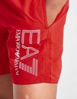 Emporio Armani EA7 Short de Bain Tissé à Logo Junior