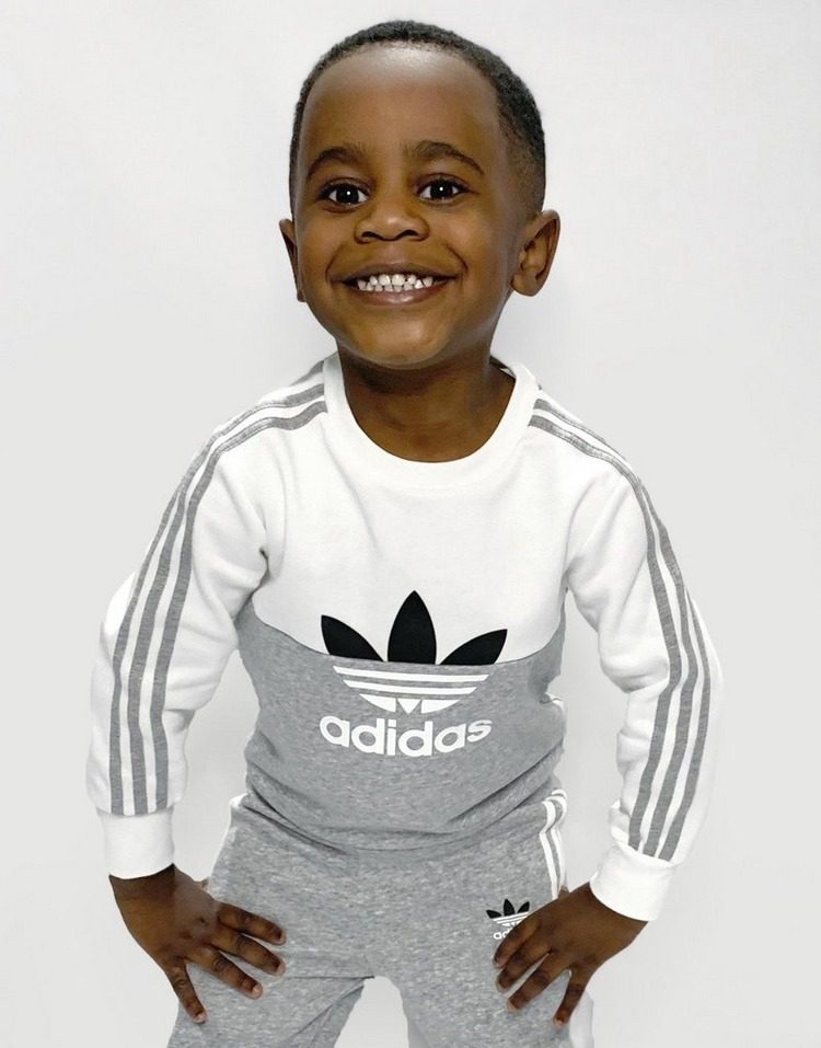 adidas Originals Sliced Crew Tracksuit Infant