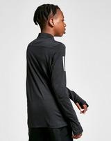 adidas 3-Stripes 1/4 Zip Top Junior