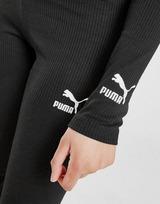 Puma Classics Rib Long Sleeve Crop Top