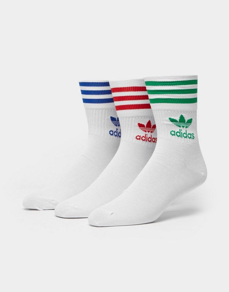 adidas Originals 3 Pack Crew Socks