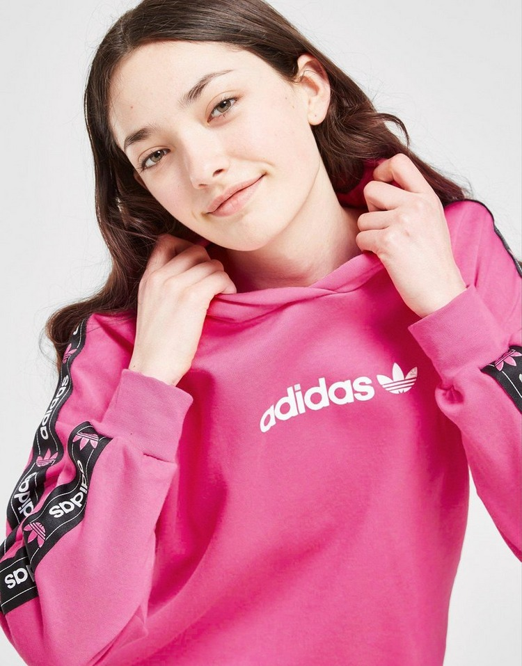 adidas Originals Girls' Tape Boyfriend Hoodie Junior