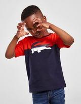 Lacoste Colour Block Croc T-Shirt Children