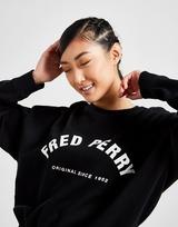 Fred Perry Arch Logo Crew Sweatshirt