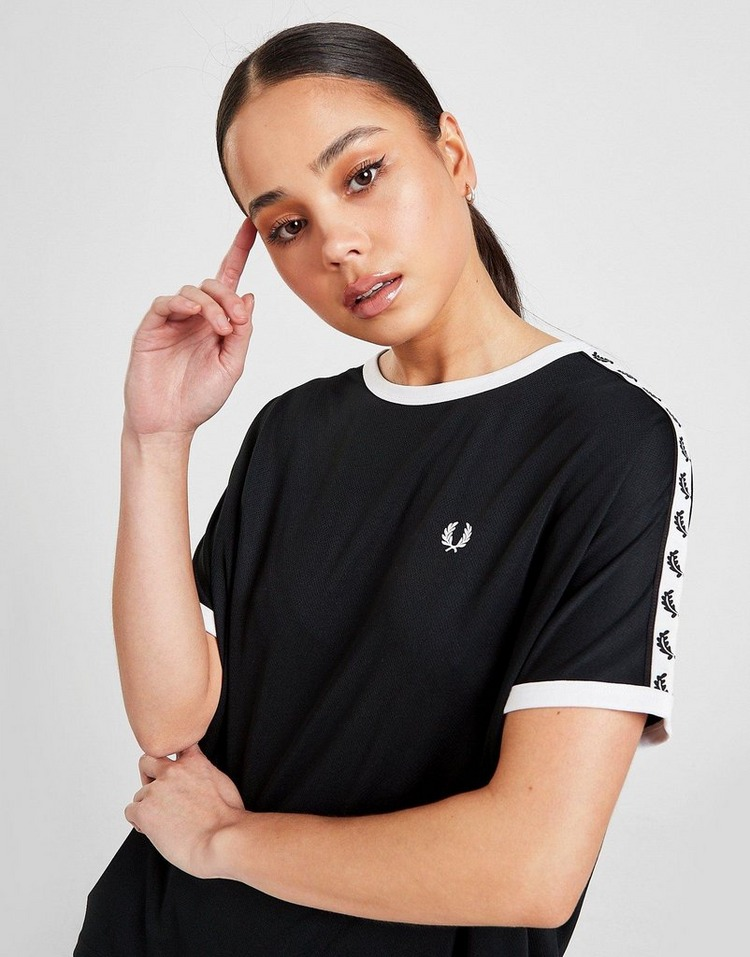 Fred Perry Mesh Taped Ringer T-Shirt