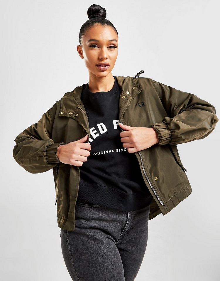 Fred Perry Parka Courte Femme