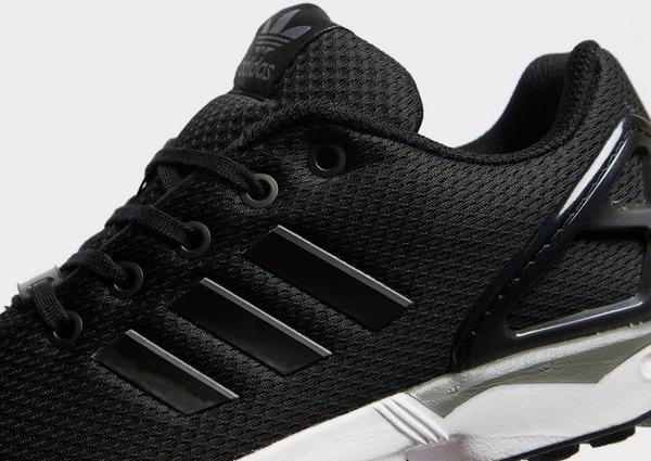 Black adidas Originals ZX Flux Junior   JD Sports
