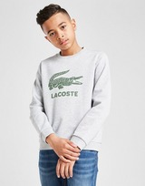 Lacoste Large Croc Crew Sweatshirt Junior