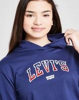 Levis Girls' Crop Graphic Hoodie Junior