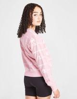 Champion Girls' All Over Print Crop Sweatshirt Junior
