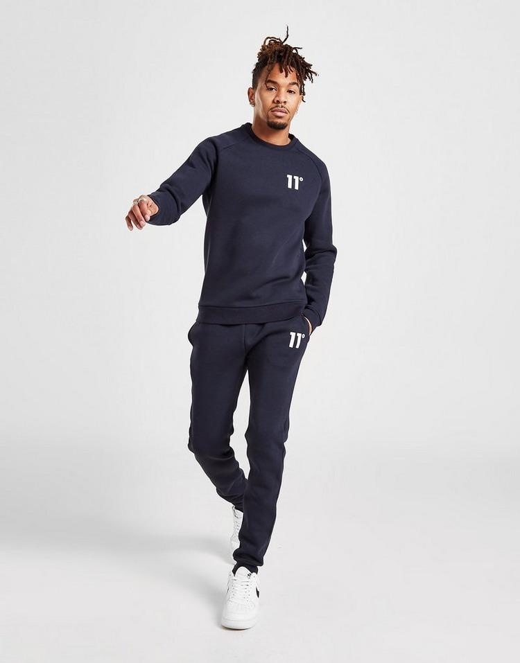 11 Degrees Core Fleece Crew Sweatshirt