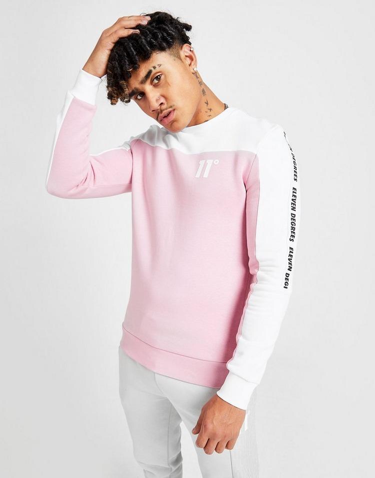 11 Degrees Tape Crew Sweatshirt