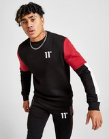 11 Degrees Carbon Colour Block Sweatshirt
