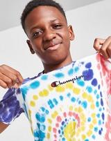 Champion Tie Dye T-Shirt Junior