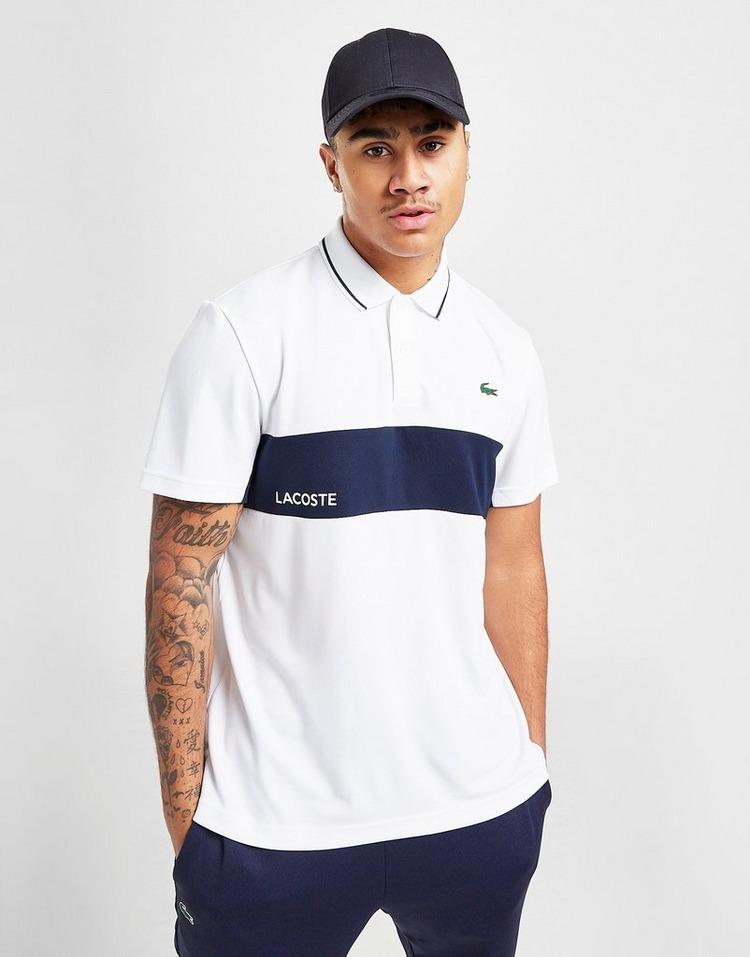 Lacoste Poly Panel Polo Shirt
