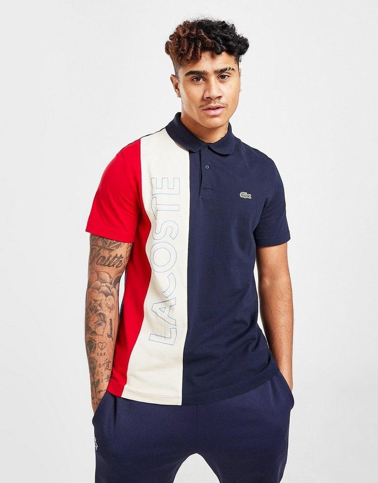 Lacoste Vertical Block Polo Shirt