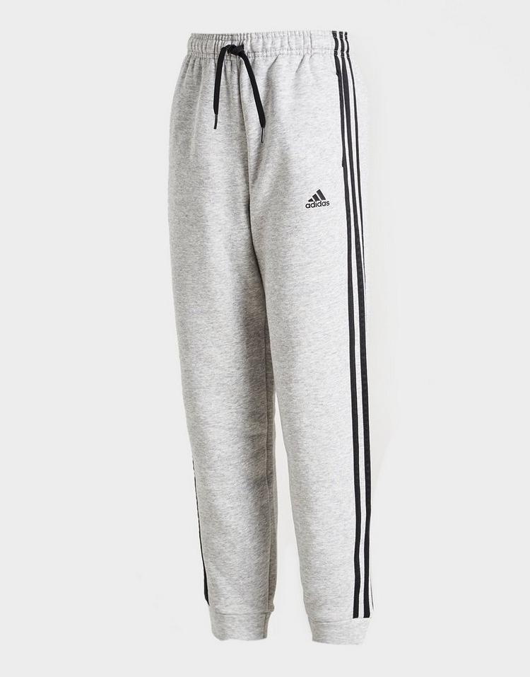 adidas 3-Stripes Fleece Joggers Junior