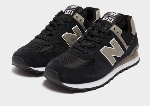Black New Balance 574 | JD Sports