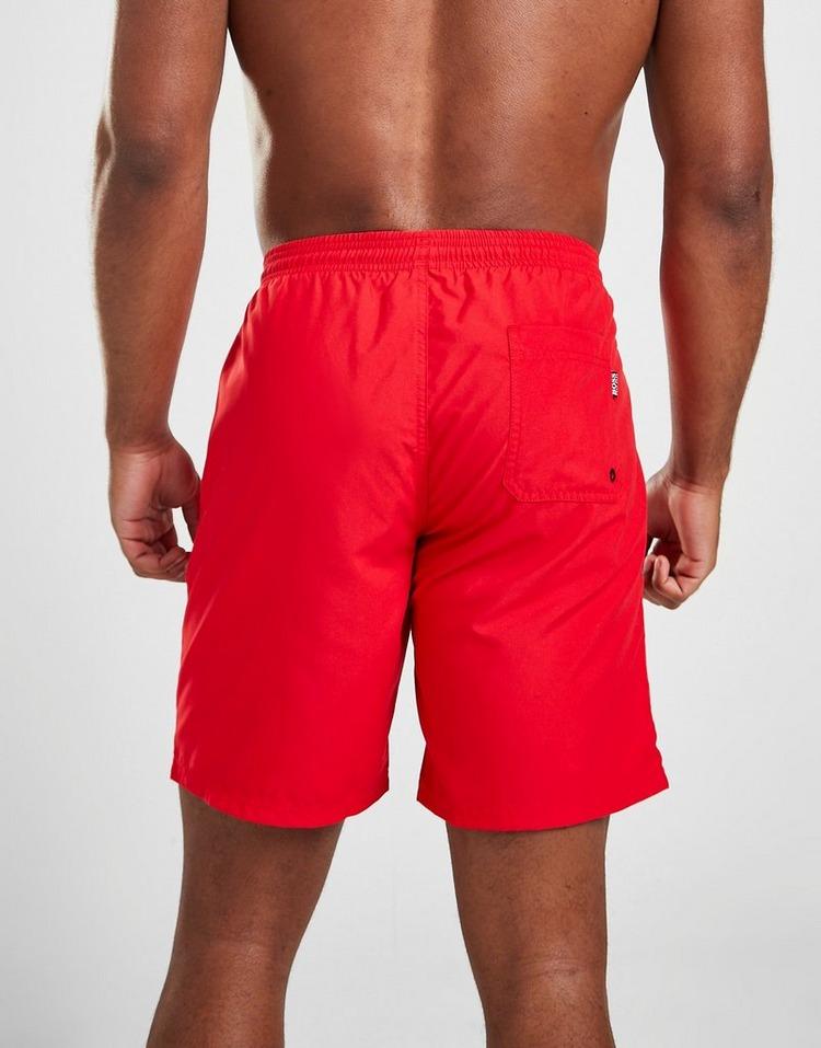 BOSS Orca Large Logo Bermuda Swim Shorts