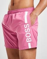 BOSS Dolphin Vertical Logo Swim Shorts