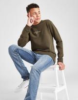 Fred Perry Central Logo Crew Sweatshirt Junior