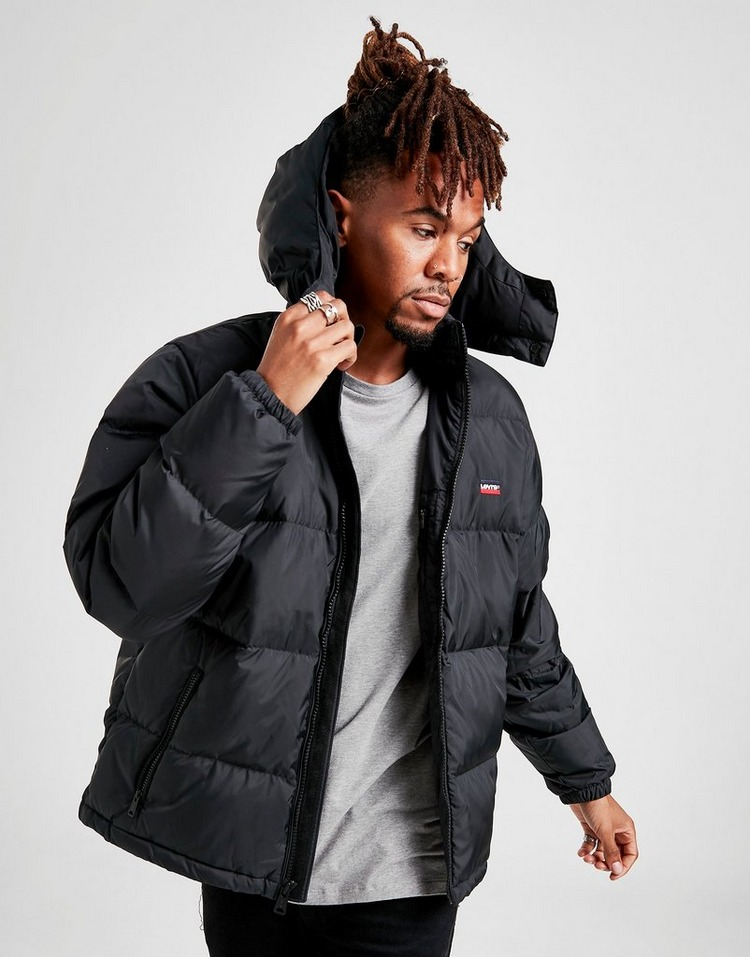 Levis Hooded Bubble Jacket